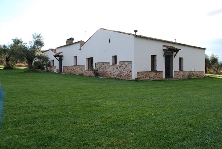 Casa rural  ecológica Huerta del Pirata(TR-BA-108)