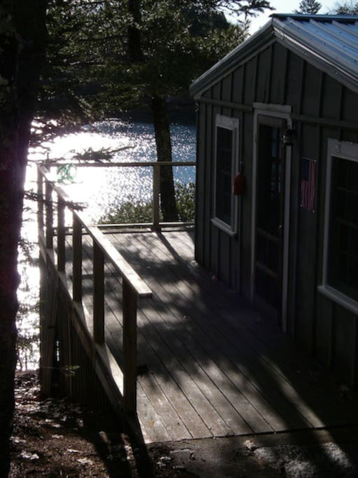 Pine Cottage at Harborfields, Boothbay Harbor, Maine.