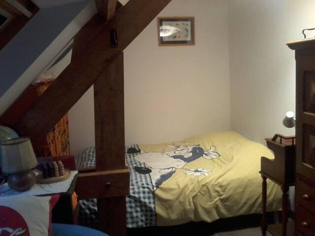 Chambre en mansarde - Arnage - Haus