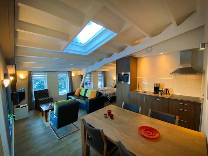 NIEUW! Luxe landelijk appartement, groene omgeving