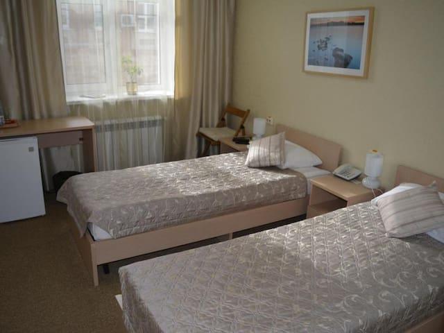 """Standard twin. Hotel """"Silver Key"""""""