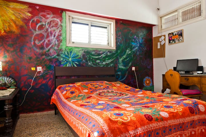 Cosy room in the heart of Rehovot#3 - Rehovot - Hus