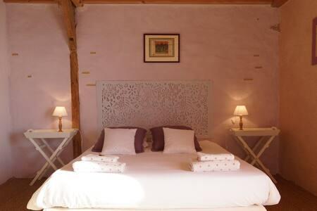 Superbe B&B vallée de la Dordogne - Lacam-d'Ourcet - Szoba reggelivel