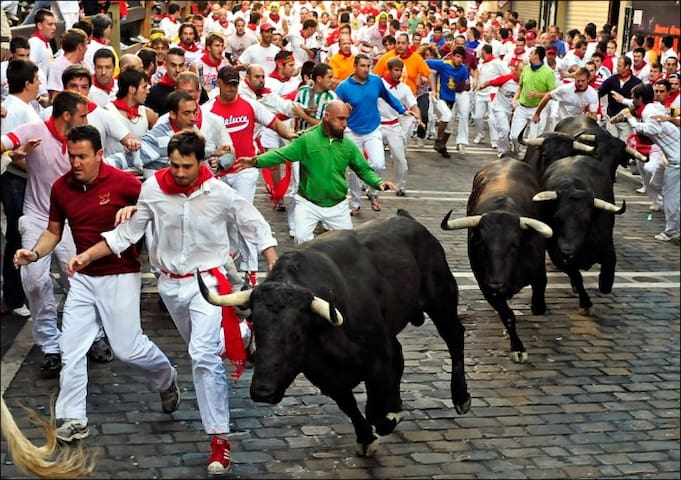 Share room  - Running of the Bulls - Pamplona - Pampeluna