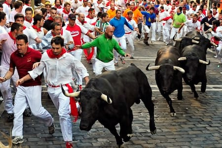 Share room  - Running of the Bulls - Pamplona - Pamplona - Altres