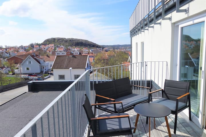 Modern apartment in beautiful Hunnebostrand
