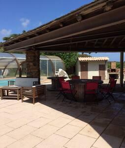 Grande villa solaire avec piscine - Sorbo-Ocagnano - Rumah