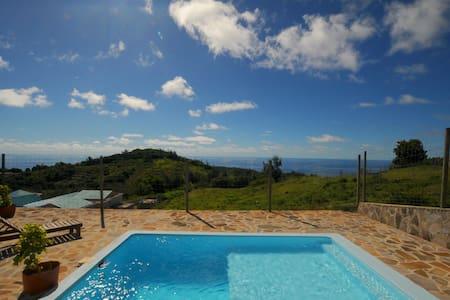 L'Esperance, beautiful  ocean view, pool, NEW WIFI