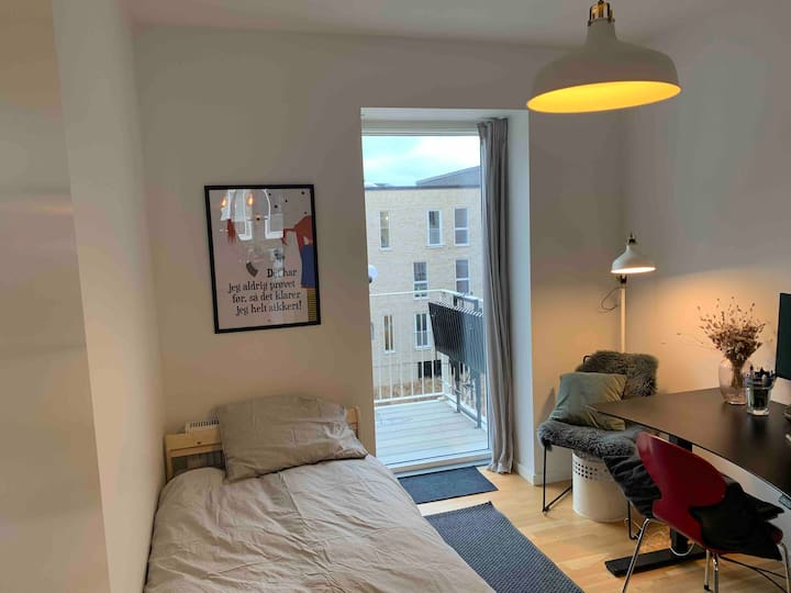 Cheap room 4km from city centre