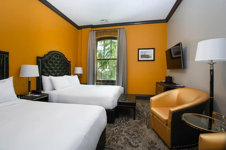 Hotel Clarendon, chambre régulière 2 lits doubles