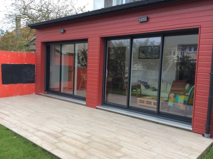 maison 100 m2 idéale pour famille  - jardin