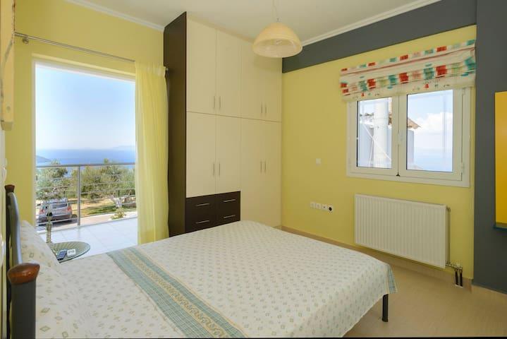 Bedroom 2 has windows on three(!) sides