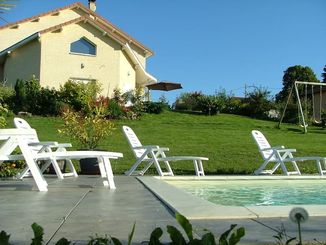 Les Enselmes - Montagnieu - Bed & Breakfast