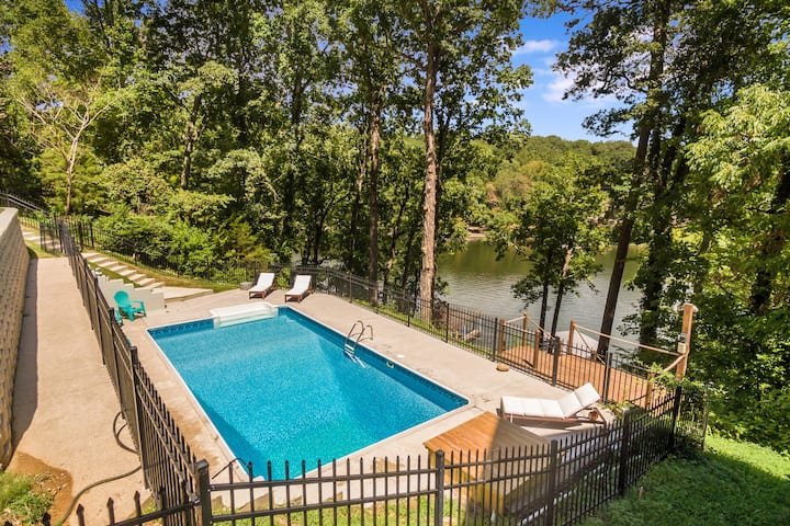 Scenic Lakehouse! Sleeps 10, 20min to Chattanooga!