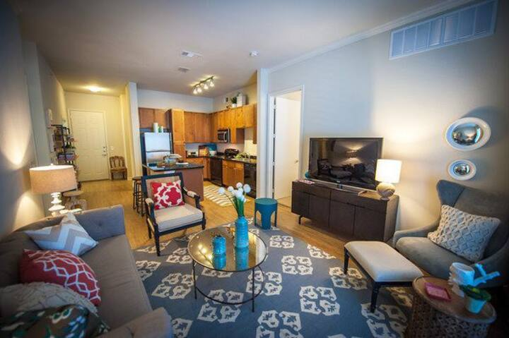Luxury 2BR w/ pool, gym and more in Plano