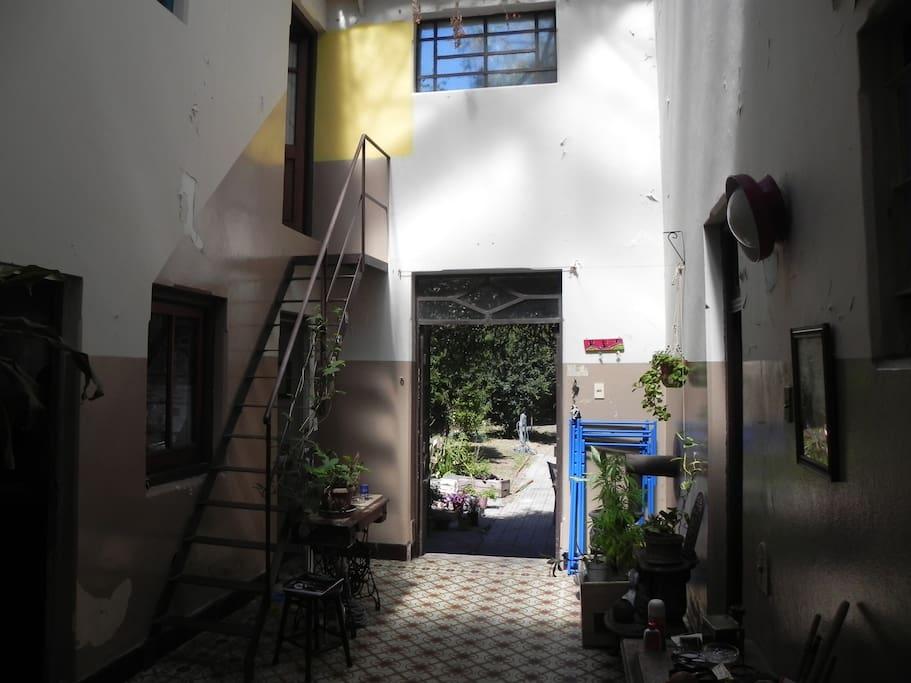 Segundo patio/ Second Skylight