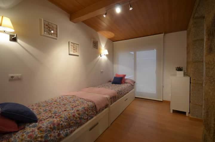 B)Apartamento en la playa de Sanxenxo