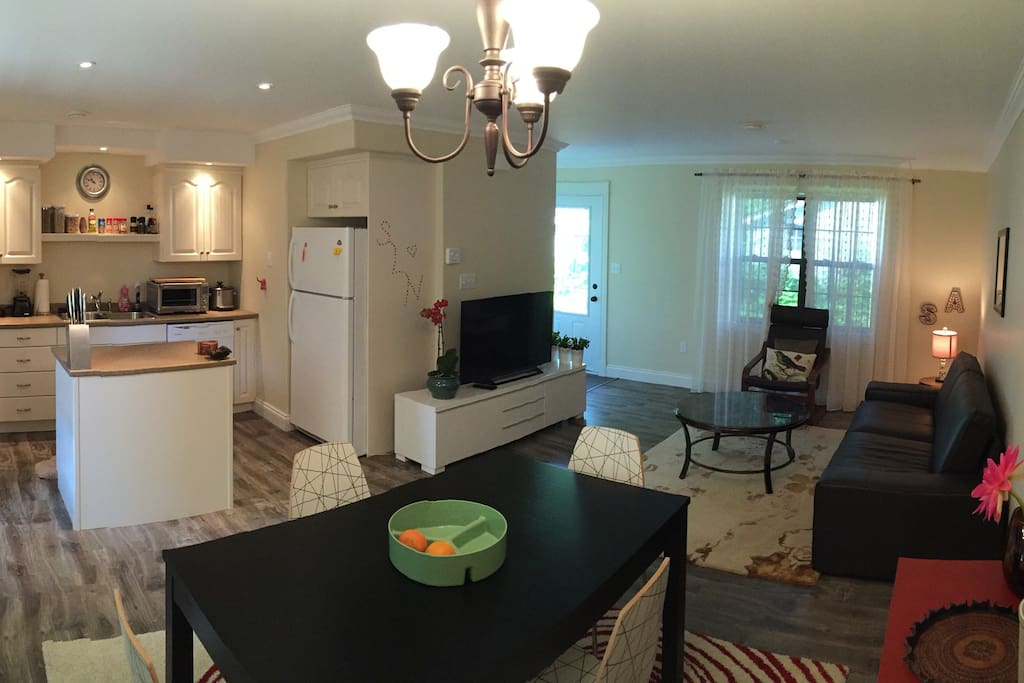 Open-Concept lower level