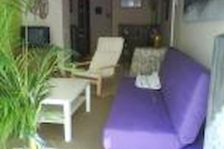 apartamento con jardin - Ezcaray - Lejlighed