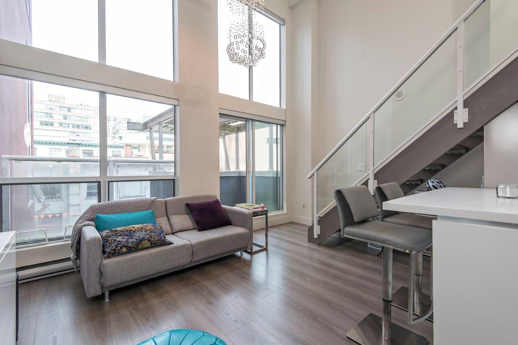 loft in yaletown wohnungen zur miete in vancouver. Black Bedroom Furniture Sets. Home Design Ideas