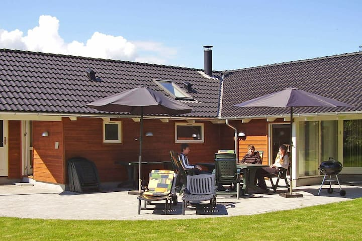 Spacious Holiday Homein Falster with Sauna