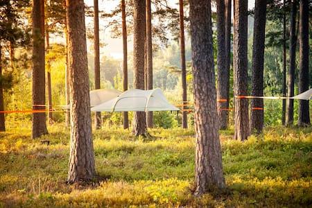 Skytent in Tentsile Camp Hiidenvesi