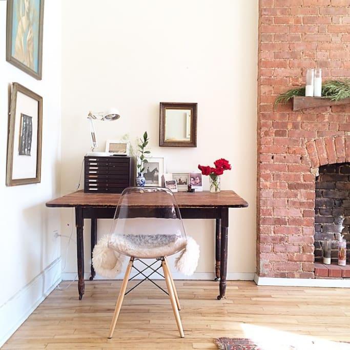 Large Studio Apartments: Lovely West Village Loft Studio
