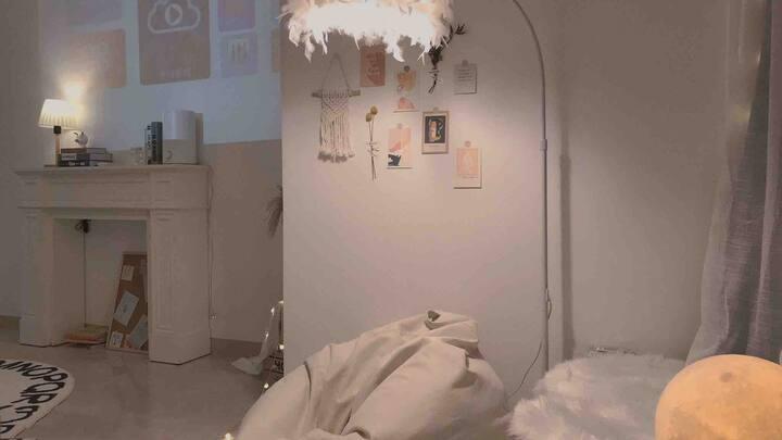 【O·波西米亚2号】公寓 浪漫 千灯湖 万达 宜家 环宇城  星巴克教堂 金融高新区地铁步行2分钟