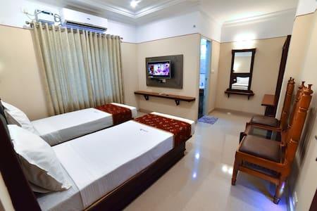 Vashanth Krishna Double Bed Room