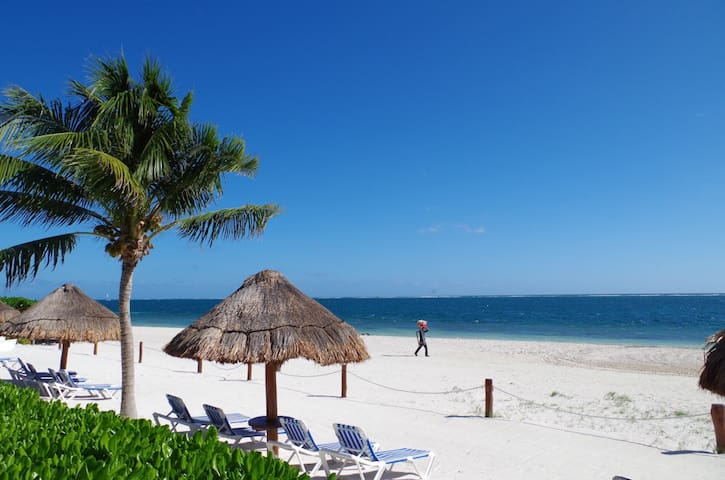 Apartamento Chikito 1Bedroom Beach Front - Puerto Morelos - Apartment