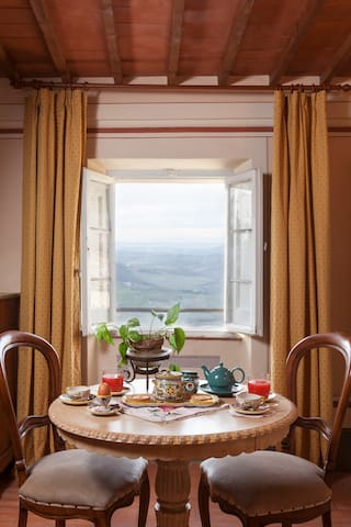 THE BEAUTIFUL VIEW- CENTRAL MONTEPULCIANO - Montepulciano - Bed & Breakfast