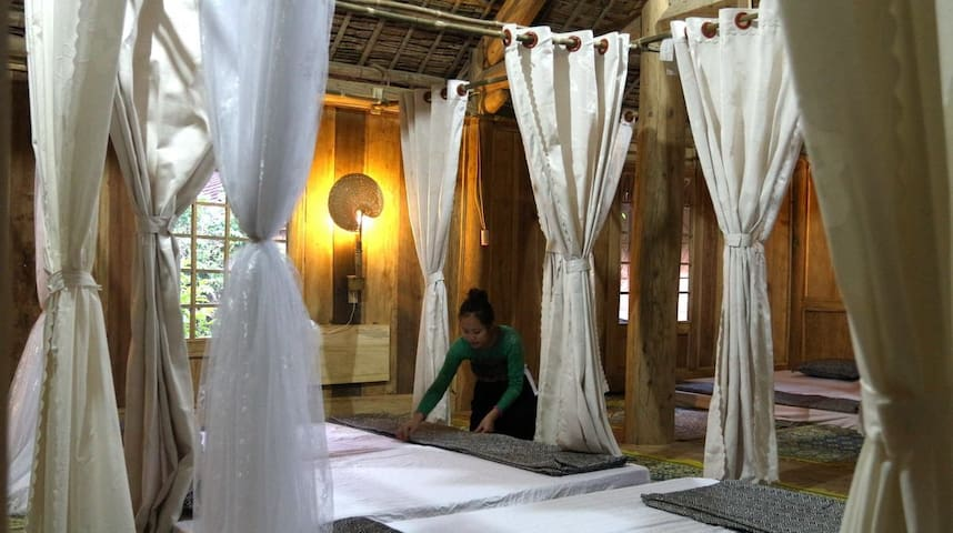 Dormitory on Thai wooden stilthouse - Mai Chau - Apartmen