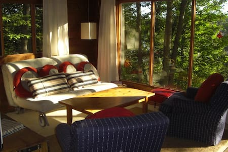 Lake Front Retreat w Sauna - Haliburton - Kabin
