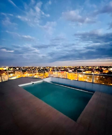Pool with amazing views! Beautiful apartment 1hab.