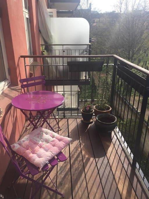 balcony with a wiew
