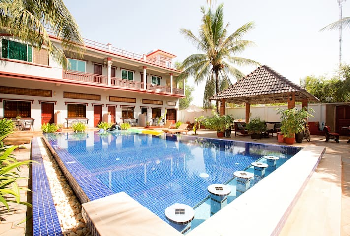 Lazydays... Beat the heat!! - Krong Siem Reap - Bed & Breakfast