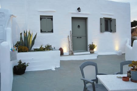 Traditional house studio SIROCCO - Syros - Hus