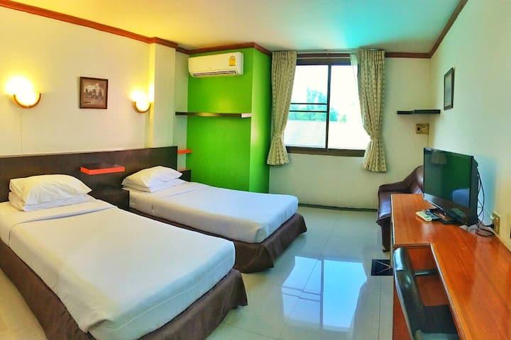 ห้องซูพีเรียเตียงแฝด