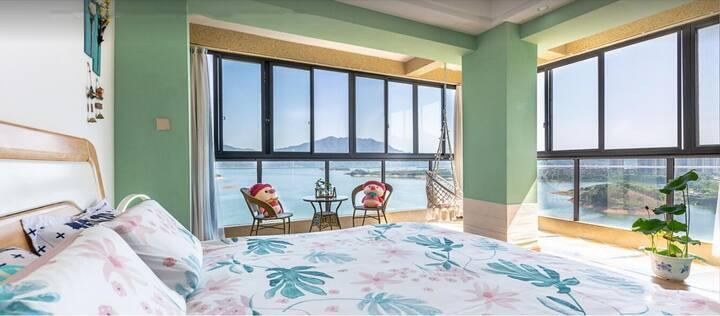 千岛湖 270度湖景阳台 看日出日落 网红打卡