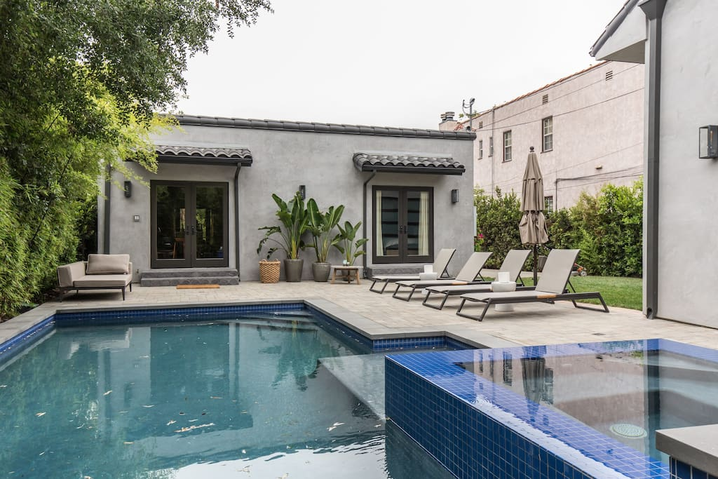 Cozy 5 3 Bedroom With Fireplace Pool Jacuzzi Houses For Rent In Los Angeles California
