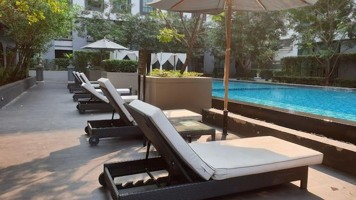 Luxury Condo@86 Siam Square/Free  Pick-Up 24Hr