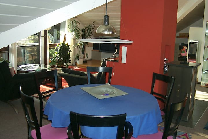Calm holiday flat near golf course - Bad Überkingen - Departamento