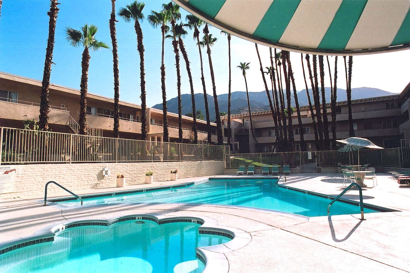 Fabulous pool deck and 12-person spa, heated year-round!
