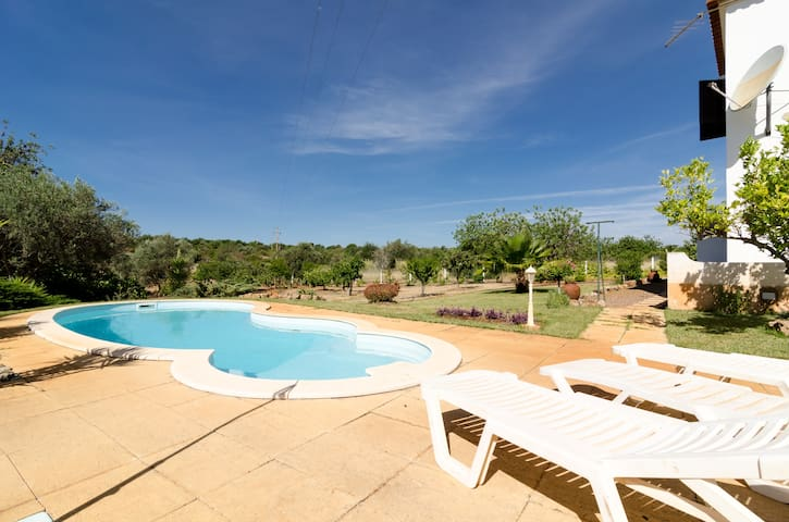 Peaceful Homy Villa - Center Algarve - Paderne - Casa