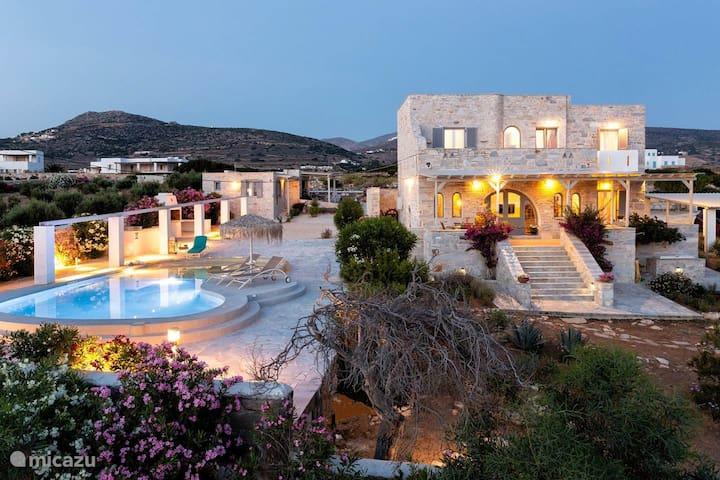 Aegean Seashell Villa with private pool and beach!