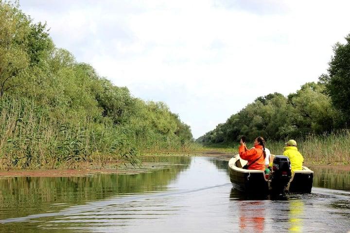 Danube Delta Wildlife-Watching Boat Tours