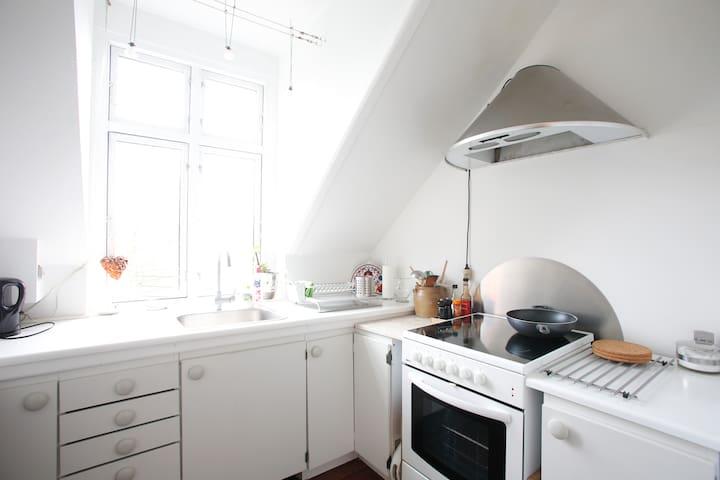 Your own kitchen.