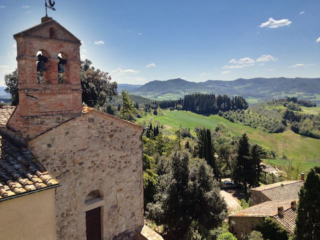 Castello di Montegemoli - S.Barbara - Montegemoli - Wohnung