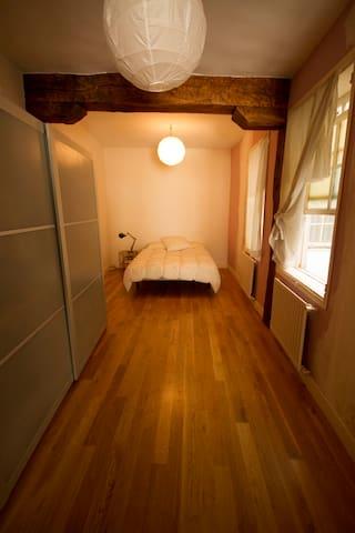 Habitación doble con despacho - Bilbao - Casa