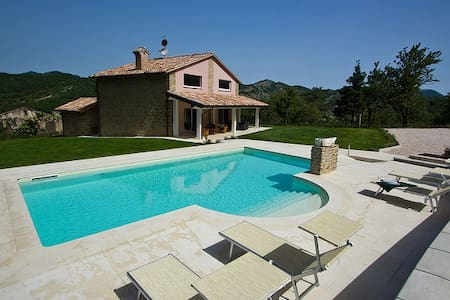 Lovely villa with private pool - Apecchio - Villa